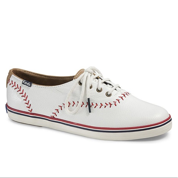 61cffe977 NEW Keds Women s Champion Pennant Leather